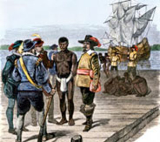1st African Slaves Brought to North America
