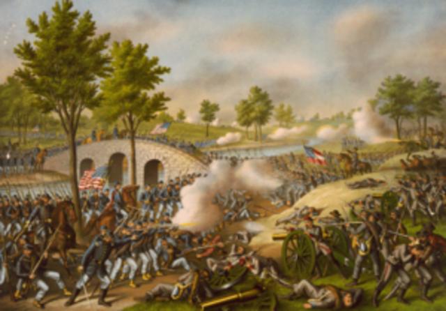 Bttle of Antietam, Maryland