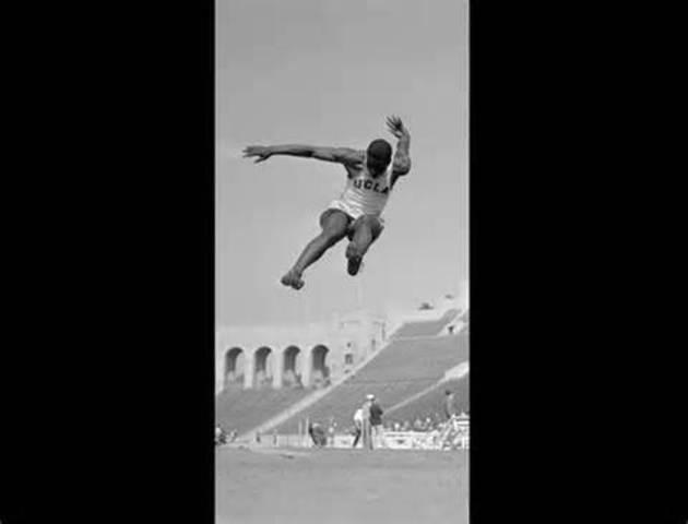 Broad jump champ