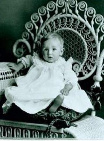 Walter Elias Disney Born to Elias and Flora in Chicago