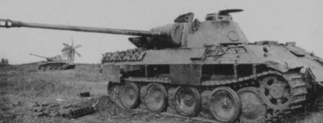 German massive tank attack