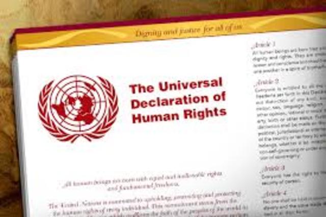 U.N. Declaration of human rights 1948