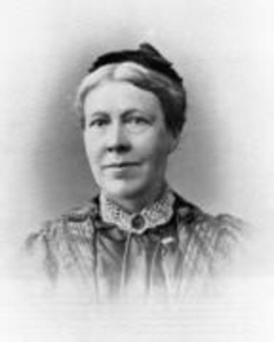 Isabella Tod founds Northern Irelands Society for Women's Suffrage