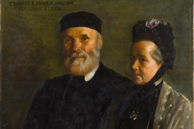 Anna & Thomas Haslam found Dublin Women's Suffrage Association