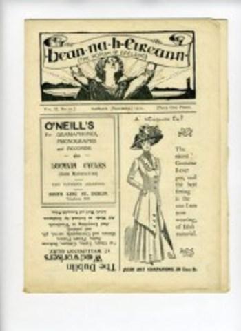 Bean na hÉireann, Ireland's first women's paper, published by Inghínidhe na hÉireann.