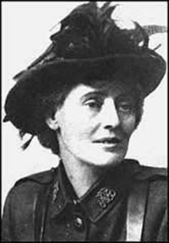 Countess Markievicz the first woman elected to the British House of Commons