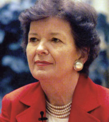 Mary Robinson elected first female Irish president