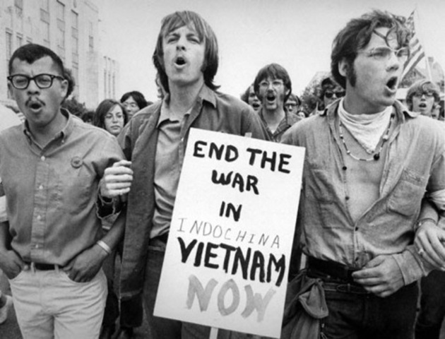 The First Anti War Protests