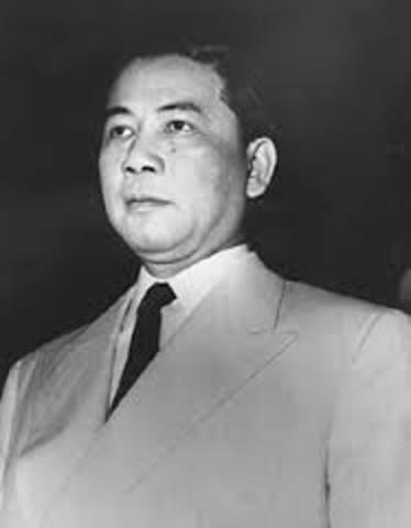 President Ngo Dinh Diem is executed