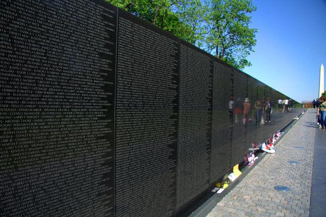 Vietnam Memorial in Washington D.C