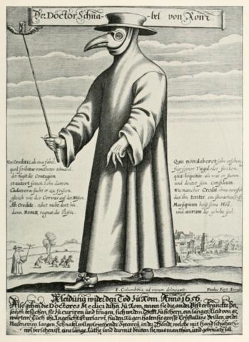 Bubonic plague strikes Venice