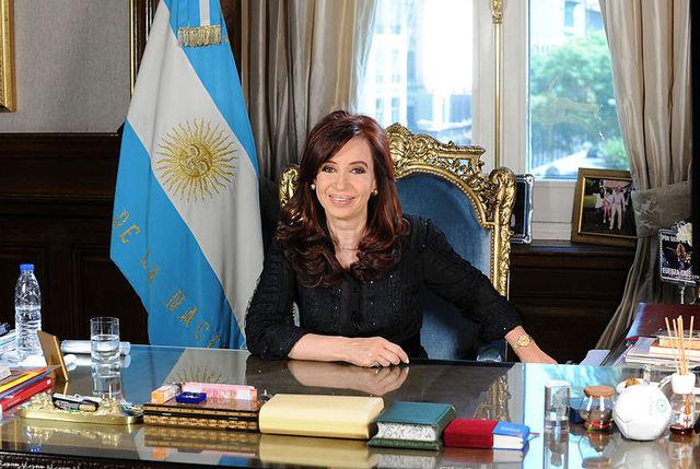 Asume como Presidente Cristina Fernandez de Kirchner