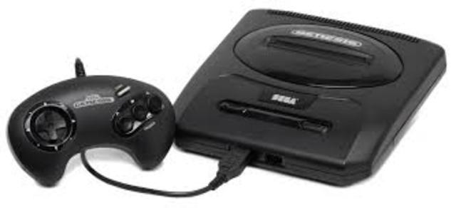 Sega Megadrive (Genesis) released