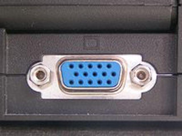 VGA connector designed