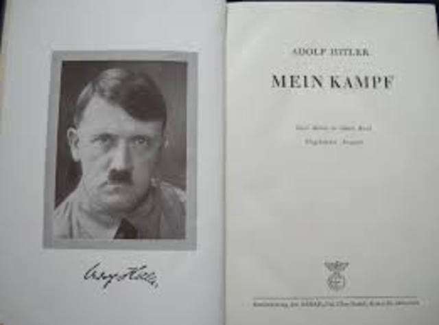 Mein Kampf published