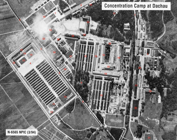 The first concentration camp, Dachau, is opened in Germany. Just outside a little town called Munich.