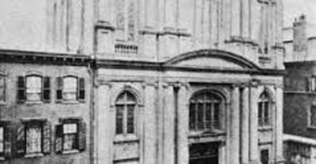 Founding of First Congregation-Based Jewish Parochial School