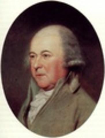 John Adams inauguration