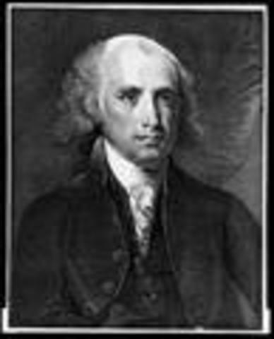 James Madison inaugurated