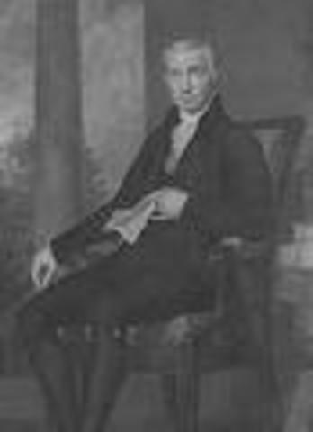 James Monroe inaugurated