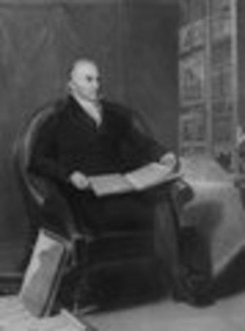 John Quincy Adams inaugurated