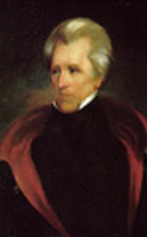 Andrew Jackson inaugurated