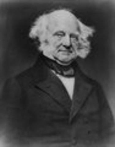 Martin Van Buren inaugurated