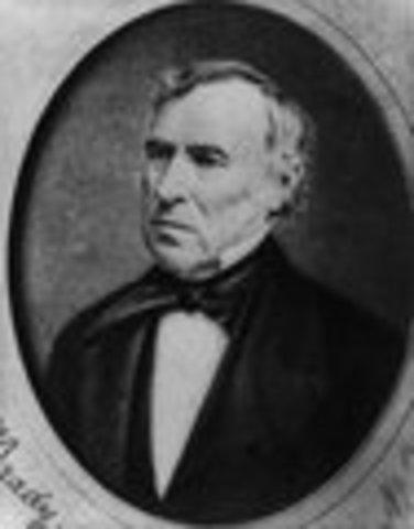 Zachary Taylor inaugurated