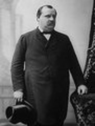 Grover Cleveland inaugurated