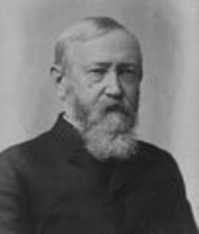 Benjamin Harrison inaugurated