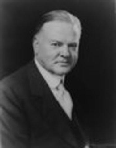 Herbert C. Hoover inaugurated