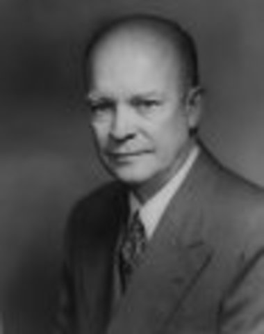 Dwight D. Eisenhower inaugurated