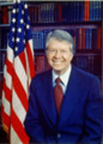 Jimmy Carter inaugurated