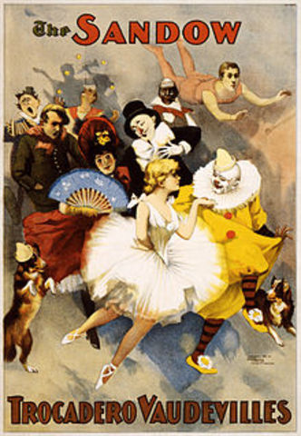 Vaudeville becomes a new form of entertainment