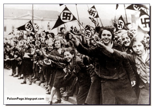 Nazi troops enter Austria, which has a population of 200,000 Jews, mainly living in Vienna. Hitler announces Anschluss (union) with Austria.