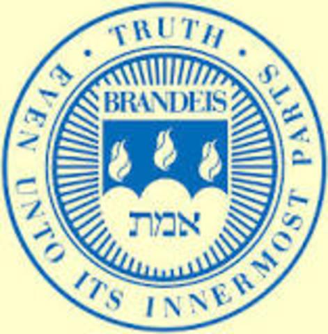 Brandeis University Founded