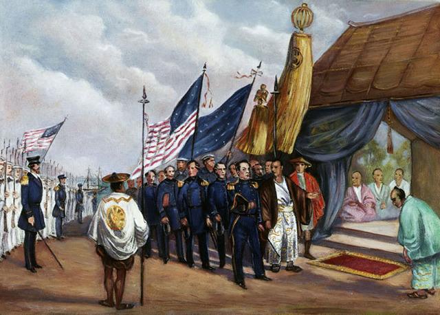 Treaty of Peace and Amity signed