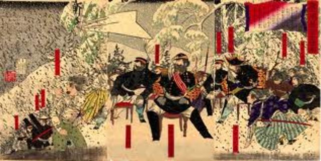 Samurai revolt