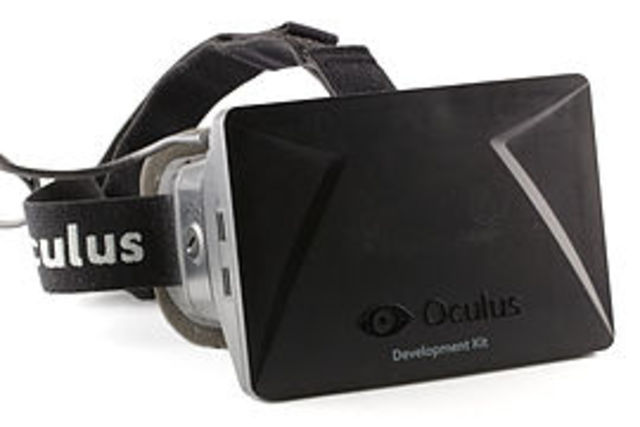 Rift VR head mounted display invented