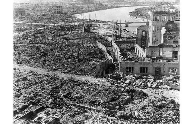 The first atomic bomb ever to be used in a military operation was dropped on the city of Hiroshima, Japan