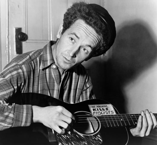 """Woody Guthrie writes """"This Land is Your Land"""""""
