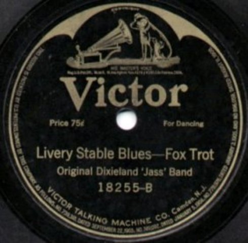 Victor records the first jazz record