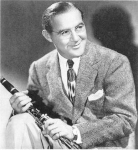 """Benny Goodman's reign as the """"King of Swing"""" begins"""