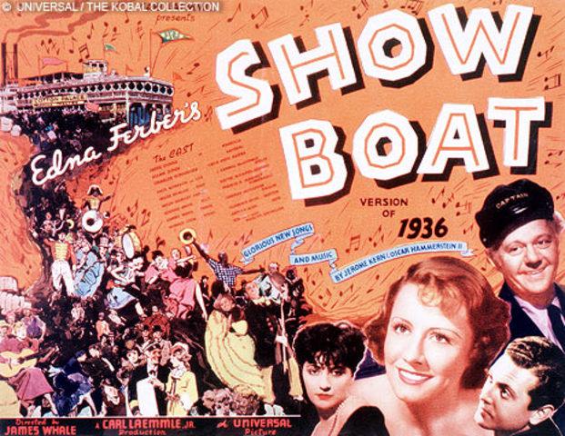 "Jerome Kern and Oscar Hammerstein write ""Showboat"""