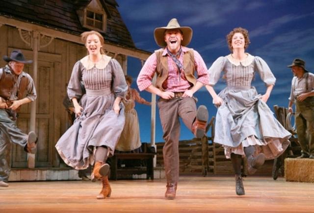 "Richard Rodgers and Oscar Hammerstein write ""Oklahoma"""