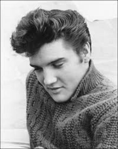 Elvis signs to Sun Records in Memphis