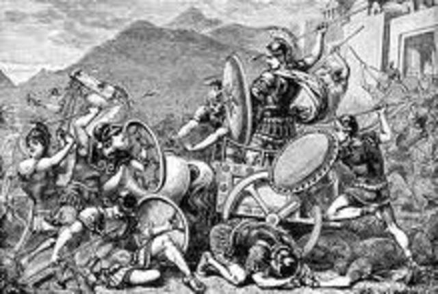 Decline of Mycenaean Power