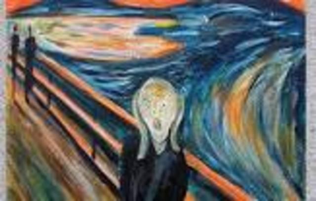 EL GRITO (Edvard Munch).