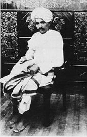 Gandhi in Champaran and Kheda