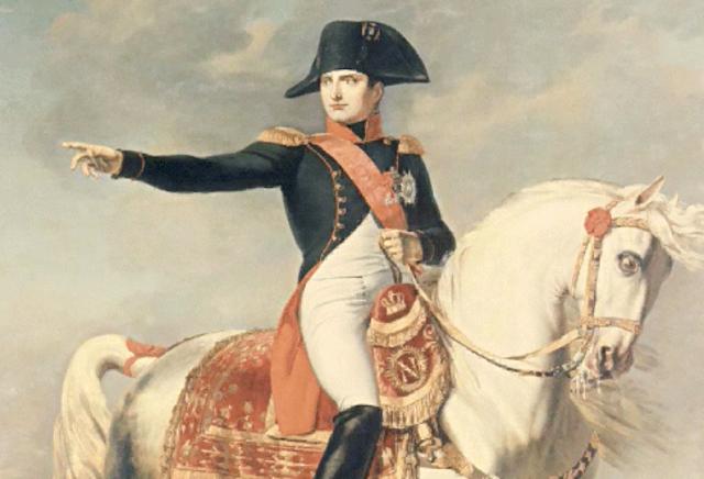 O comando de Napoleão Bonaparte
